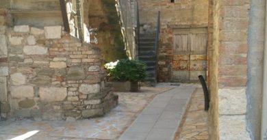 Inaugurazione dei lavori di riqualificazione del borgo di Montemolino