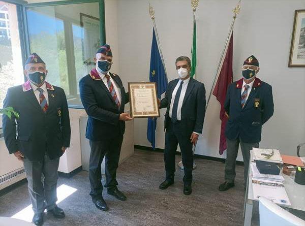 Il Questore della Provincia di Terni Bruno Failla nominato socio onorario dell'Associazione Nazionale della Polizia di Stato