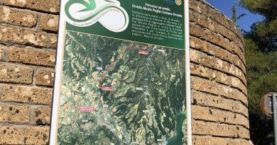 Inaugurato il percorso cicloturistico Orvieto – Monte Peglia – lago di Corbara